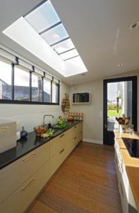 Extension bois sur maison maçonnée