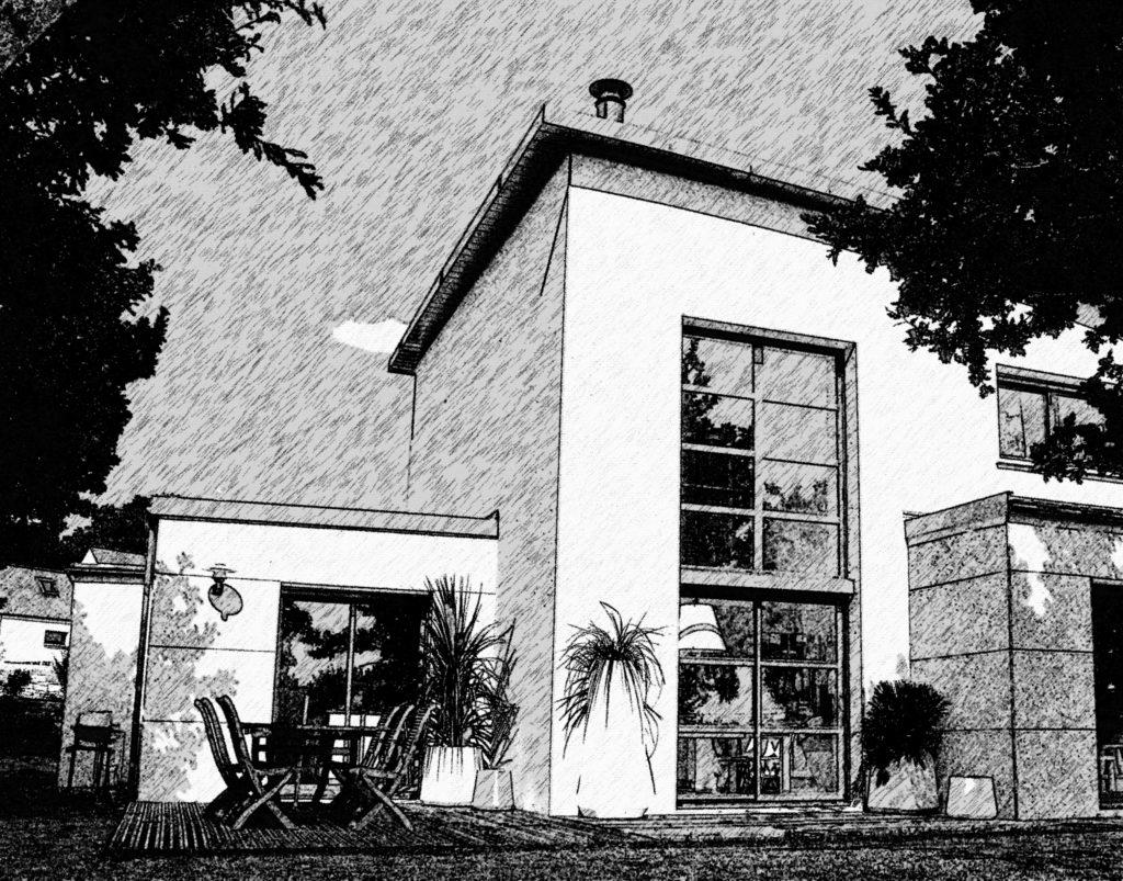 maison trecobat prix gallery of la duune maison ossature bois luexemple des maisons nature et. Black Bedroom Furniture Sets. Home Design Ideas