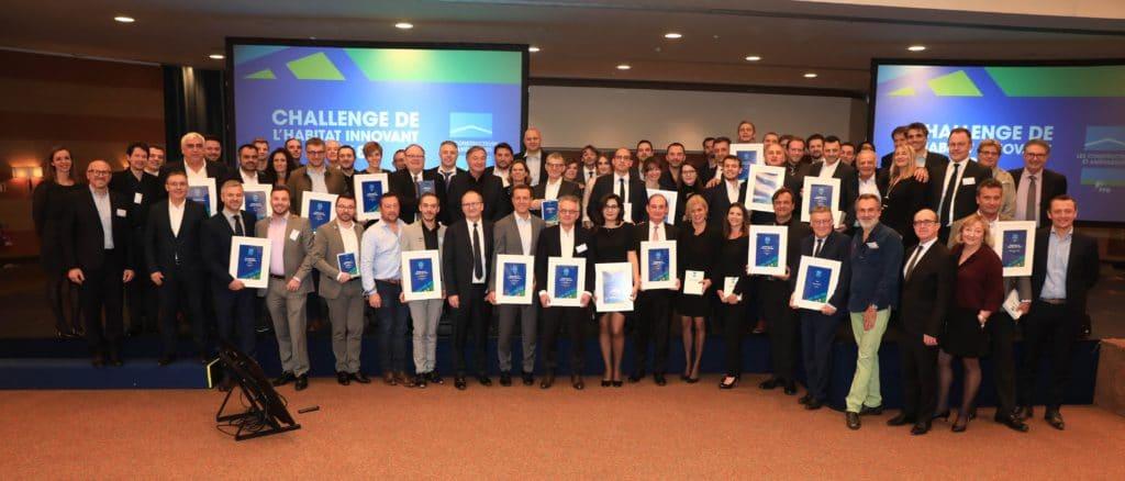 Lauréats Challenge LCA-FFB ISOVER récompensée