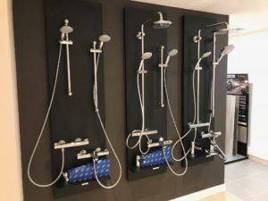 show-room Trecobat : les équipements sanitaires