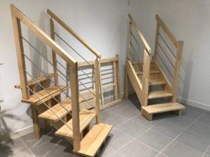 show-room Trecobat : les escaliers
