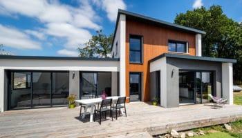 Maison contemporaine, Morbihan (56)