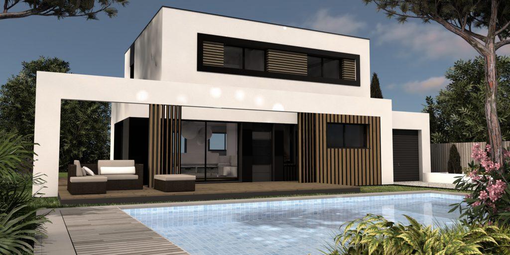 Villa Occitan-E, projet Comepos Trecobat