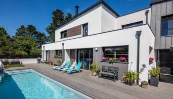 Maison grands volumes, Morbihan (56)
