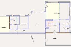 Cette maison individuelle est exposée plein sud ce qui favorise la luminosité de l'ensemble des pièces du rez-de-chaussé