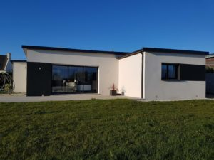 Construction d'une maison individuelle de plain-pied à Taule dans le Nord Finistère