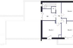 Plan étage maison individuelle Vannes