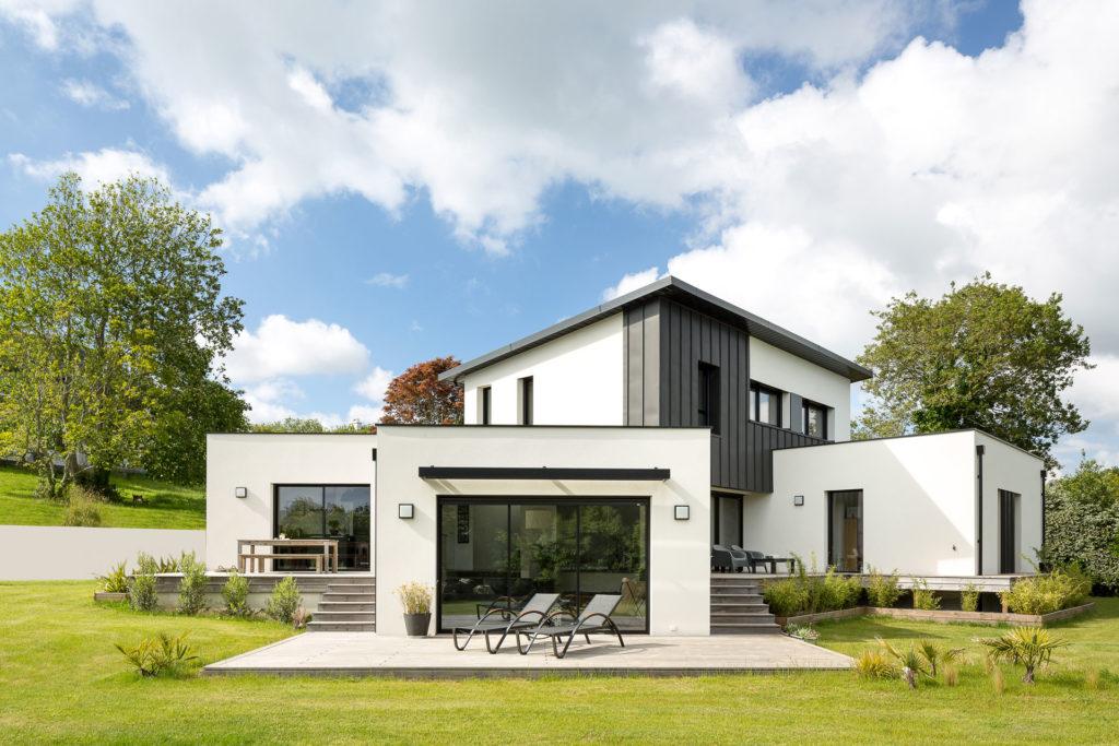 Maison individuelle contemporaine à Plougastel Daoulas