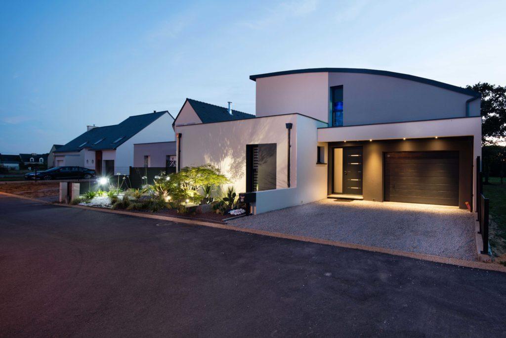 Maison Contemporaine Dans Le Morbihan Trecobat