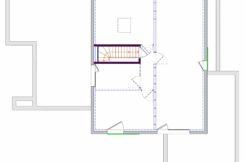 Plan étage maison individuelle à Pénestin dans le Morbihan