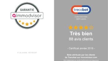 Trecobat obtient 4 étoiles sur Immodvisor