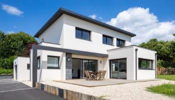 Maison contemporaine à étage à Lannion (22)
