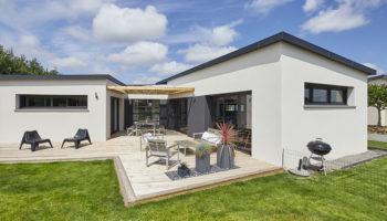 Maison familiale design aux pays des Abers dans le Finistère (29)