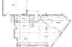 Plan de maison rez-de-chaussée