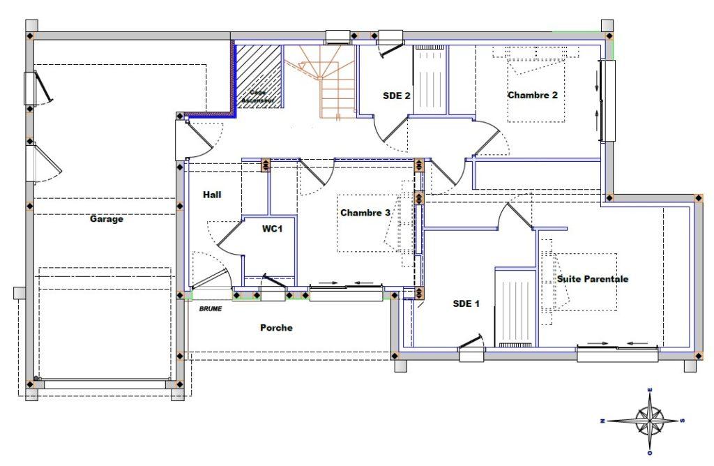 Plan De Maison Maison Familiale 8 Faire Construire Sa Maison