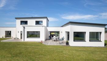 Maison modulaire et contemporaine en Bretagne