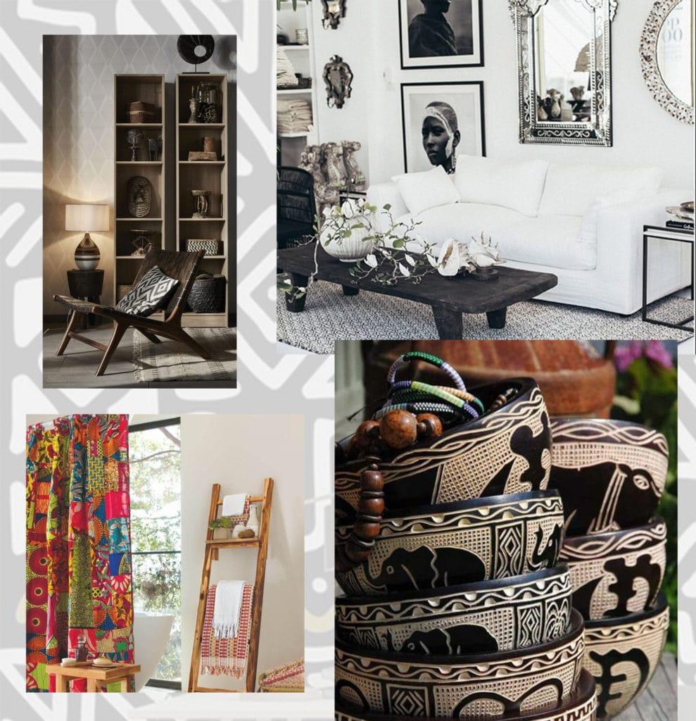 Adoptez le style Afro pour votre décoration moderne, ethnique et chic