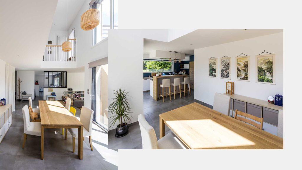 Déplafonné - vide sur séjour pour un design contemporain