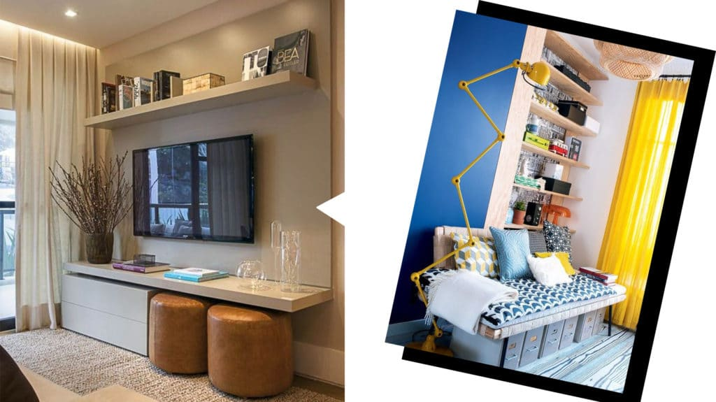 Optimisez l'espace en un clin d'œil avec les meubles multifonctions !