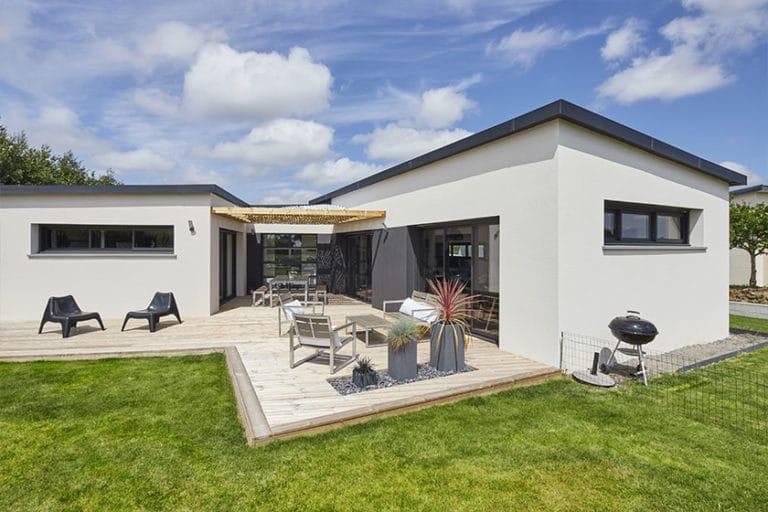 terrasse comme extension de maison