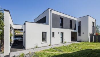 Une maison design et chic créée sur mesure près de Nantes