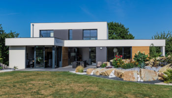 Construction d'une maison contemporaine à Trégon (22)