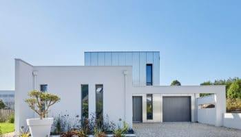 Construction d'une villa design et architecturale à Guipavas (29)