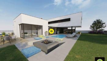 La maison virtuelle Produit en Bretagne imaginée par Trecobat