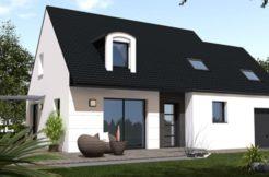 Maison+Terrain de 6 pièces avec 4 chambres à Herbignac 44410 – 184460 €