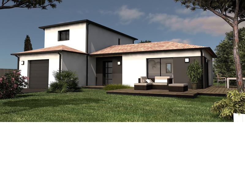 Maison+Terrain de 6 pièces avec 4 chambres à Laslades 65350 – 220900 € - SLE-18-01-17-9