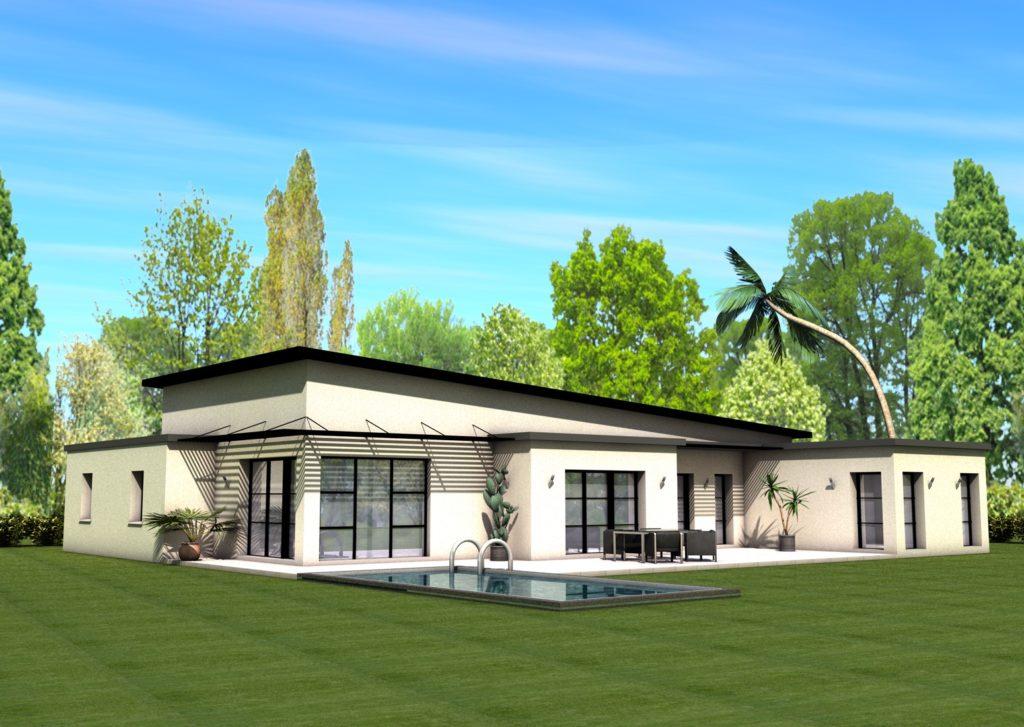 Maison+Terrain de 5 pièces avec 4 chambres à Toulouse 31500 – 425000 €