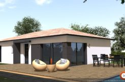 Maison+Terrain de 4 pièces avec 3 chambres à Saint Pierre de Lages 31570 – 242320 €