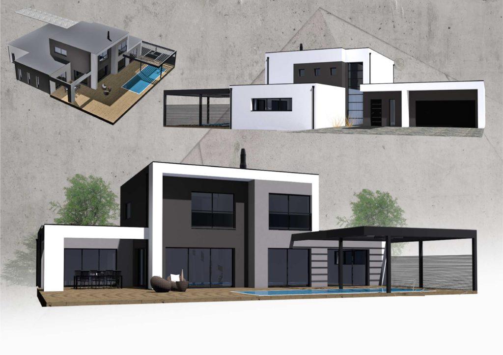 Maison+Terrain de 6 pièces avec 4 chambres à Toulouse 31500 – 374000 €