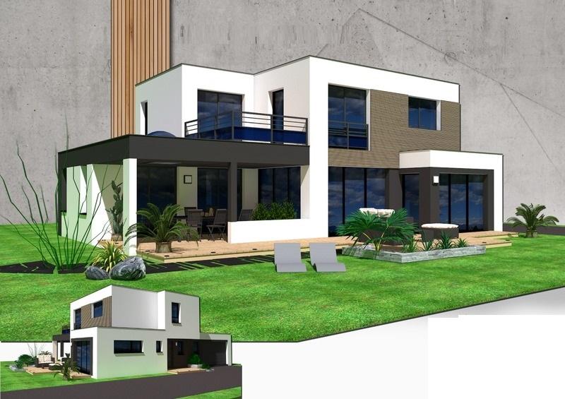 Maison+Terrain de 6 pièces avec 5 chambres à Cornebarrieu 31700 – 334001 €