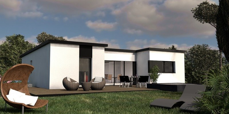 Maison+Terrain de 5 pièces avec 3 chambres à Ploeren 56880 – 239094 € - YM-19-04-02-7
