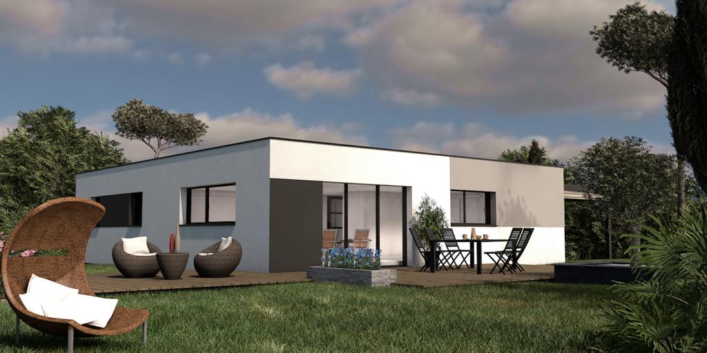 Maison+Terrain de 6 pièces avec 4 chambres à Tournefeuille 31170 – 394000 €