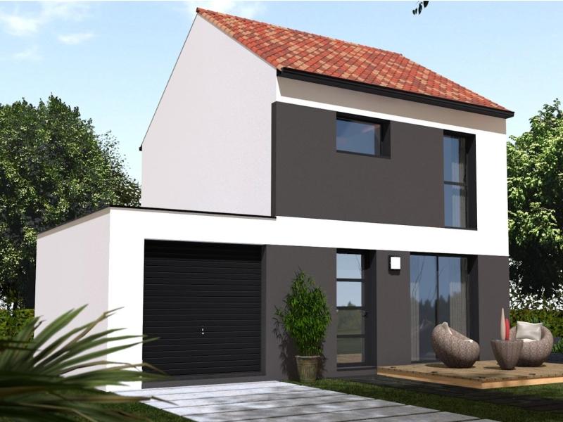Maison de 76m2 avec 5 pièces dont 3 chambres - M-MR-170804-5039