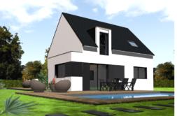 Maison+Terrain de 6 pièces avec 4 chambres à Grand Champ 56390 – 165397 € - VB-18-12-15-2
