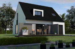 Maison+Terrain de 6 pièces avec 4 chambres à Treffléan 56250 – 187491 € - VB-19-10-20-4
