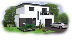 Maison+Terrain de 6 pièces avec 3 chambres à Saint Thégonnec 29410 – 170630 €