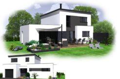 Maison+Terrain de 6 pièces avec 4 chambres à Saint Thégonnec 29410 – 214630 €