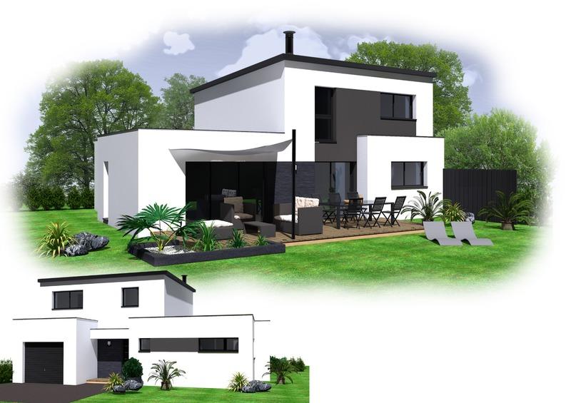 Maison+Terrain de 6 pièces avec 4 chambres à Landivisiau 29400 – 229320 €