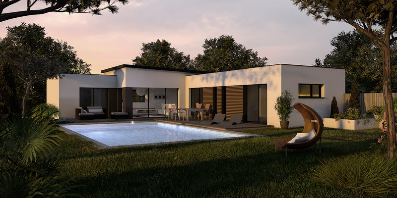 Maison+Terrain de 7 pièces avec 3 chambres à Saint Médard en Jalles 33160 – 456000 € - EMON-18-07-27-20