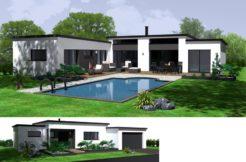 Maison+Terrain de 6 pièces avec 3 chambres à Blanquefort 33290 – 452000 €