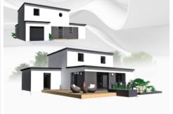 Maison+Terrain de 6 pièces avec 4 chambres à Saint Marcel 56140 – 270454 € - VB-19-02-11-28