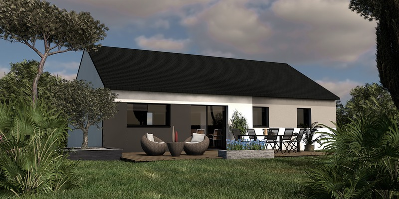 Maison de 83m2 avec 5 pièces dont 3 chambres - M-MR-170804-5051