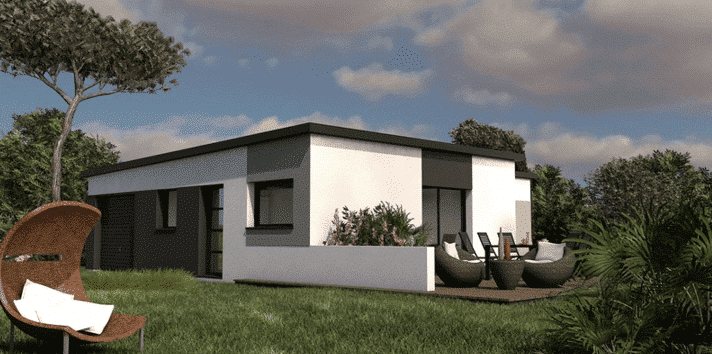 Maison+Terrain de 5 pièces avec 3 chambres à Blain 44130 – 184000 € - BF-19-07-12-1