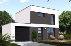 Maison+Terrain de 5 pièces avec 3 chambres à Plourin lès Morlaix 29600 – 172500 €