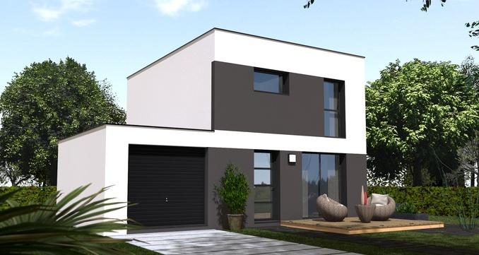 Maison+Terrain de 5 pièces avec 3 chambres à Lanmeur 29620 – 153500 €