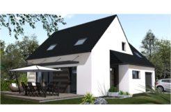 Maison+Terrain de 6 pièces avec 4 chambres à Plourin lès Morlaix 29600 – 189600 €
